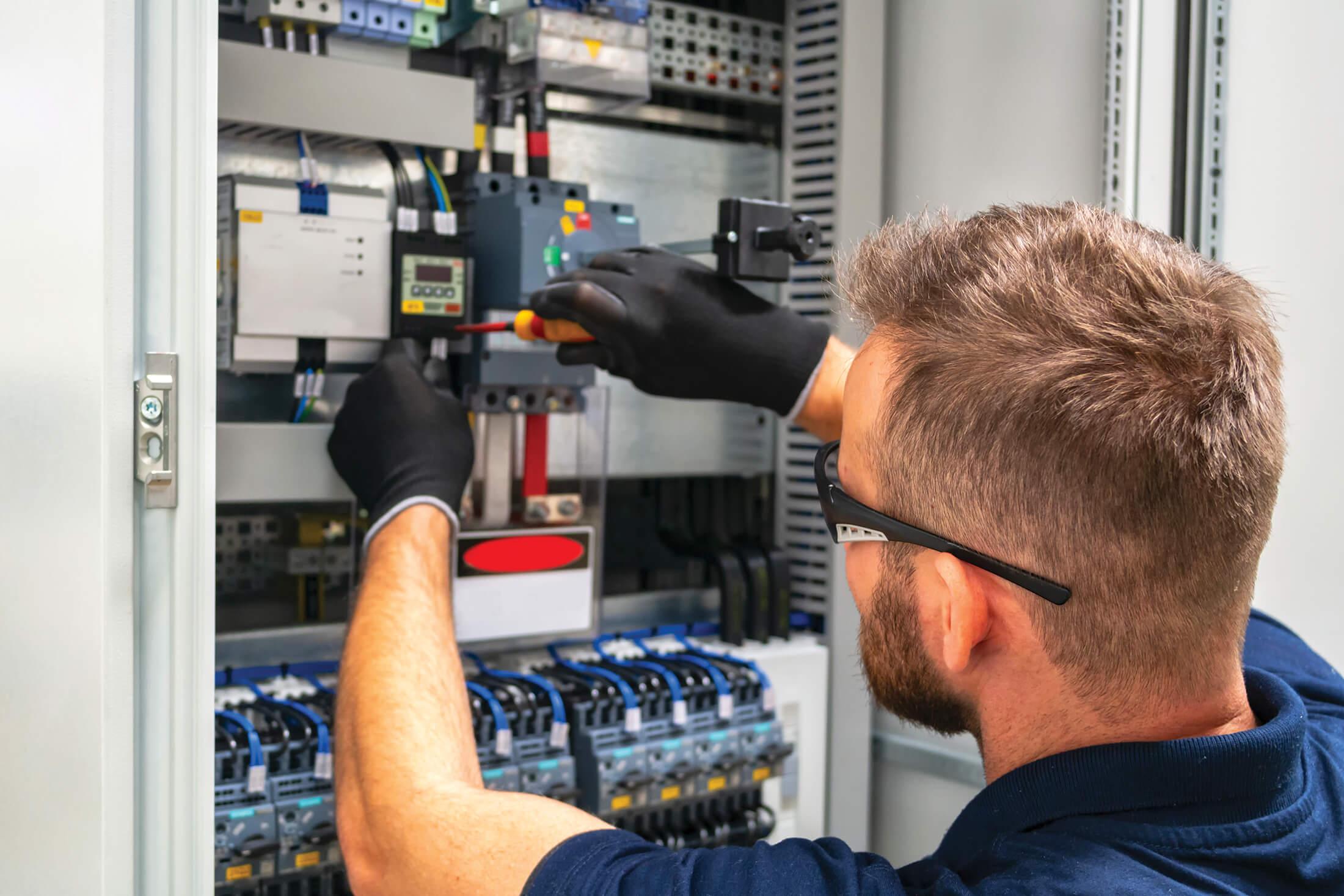 cablage electrique industriel